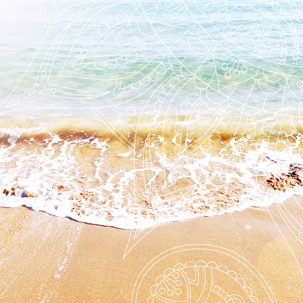 Costa Blanca Meer im Sommer