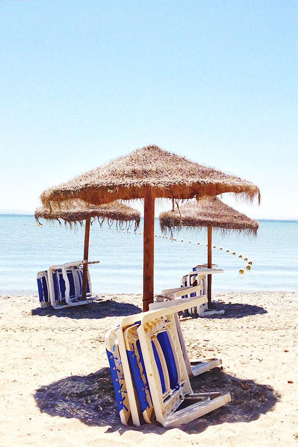 Kalender im Ferienhaus am Meer in Spanien bei Torrevieja
